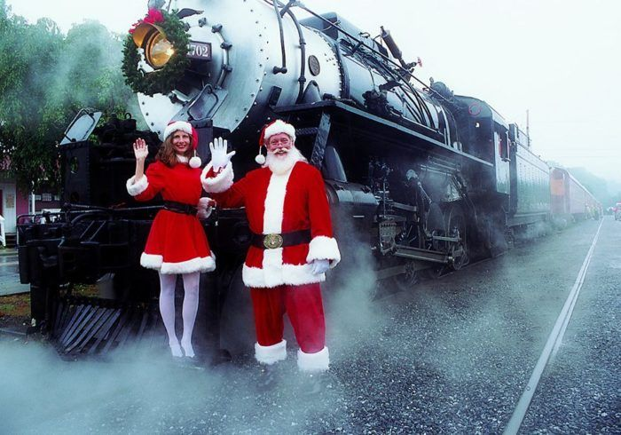 The Magical Polar Express Train Ride In North Carolina Everyone Should Experience At Least Once