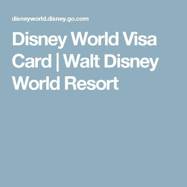Disney World Visa Card | Walt Disney World Resort