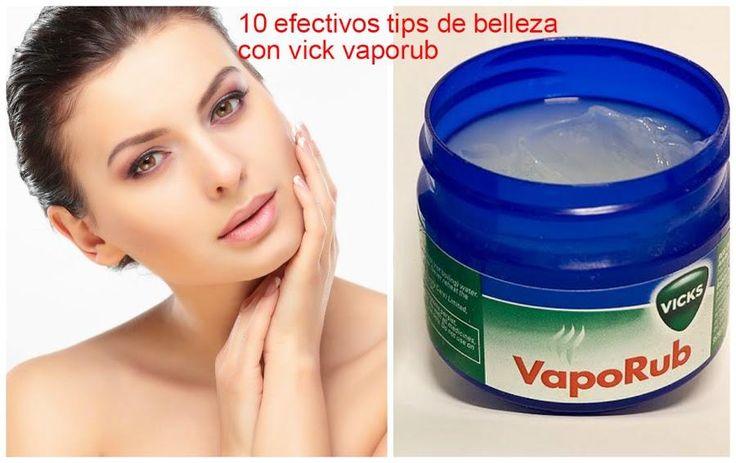 10 efectivos trucos de belleza con vick vaporub, ¿será cierto?