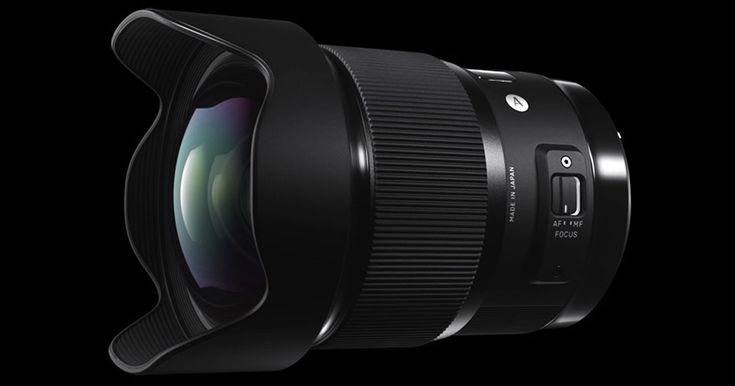 Sigma today announced the new 20mm f/1.4 Art lens, a new full frame lens for Canon, Nikon, and Sigma cameras that's the world's widest full frame f/1.4 len