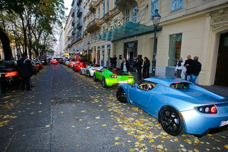 Roadsters in Vienna