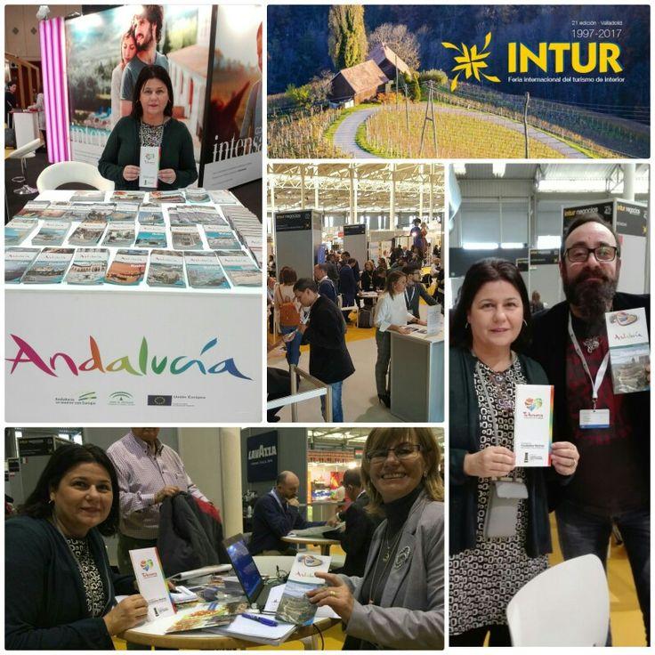 Día de trabajo en #INTUR2017 en #INTURNegocio y en el #stand de #Andalucía en la Feria Internacional del Turismo de Interior de #Valladolid.#experiencias #AlcalálaReal #Antequera #Écija #Lucena #PuenteGenil  #intensamente #vivetuhistoria