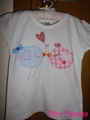Más pájaros en la camiseta
