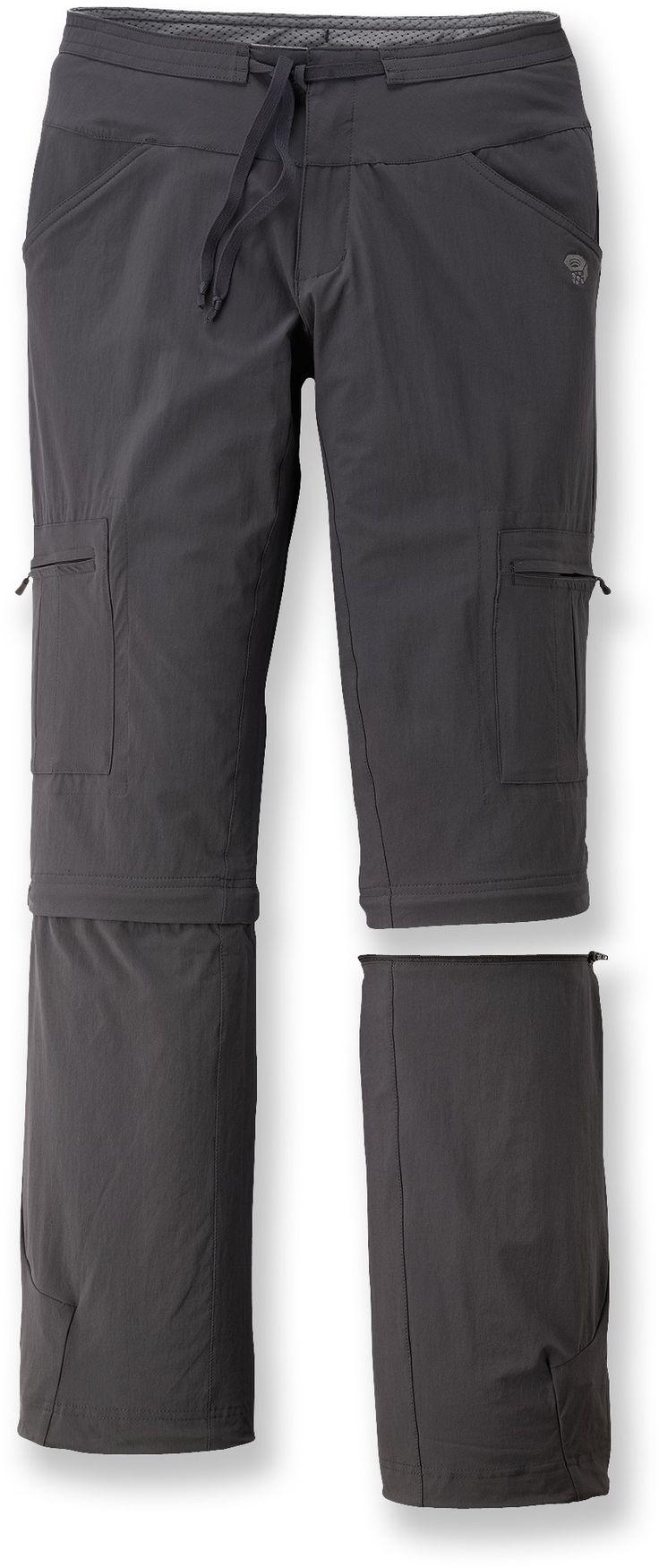 Mountain Hardwear Yuma Convertible Pants - shark