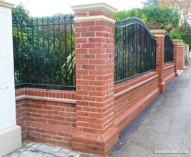 10 best images about garden walls on pinterest gardens for Garden brick wall designs