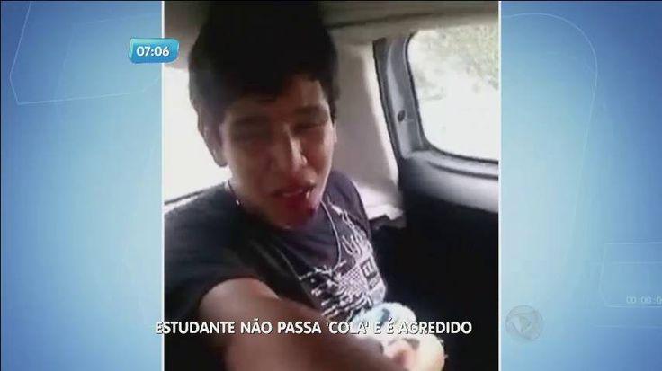 """Estudante é esfaqueado por não passar """"cola"""" para colega - Fotos - R7 Balanço Geral Manhã"""