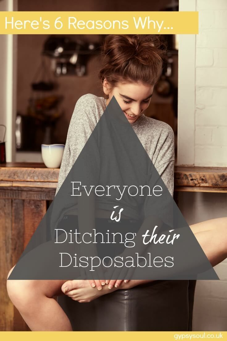 Ditch the disposables. Here are 6 reasons why woman are making the switch and you should too... #GreenLiving #ZeroWaste #WomansHealth #Wellbeing #HealthyLiving