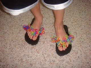 silly band flip flops