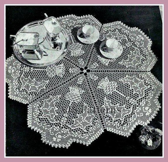 PDF Crochet Pattern for a Cobweb Fine by TheKnittingSheep on Etsy, £3.50