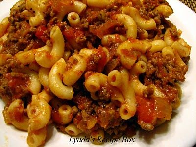 This is the basic recipe my Gma used for her 'world famous' goulash...Love it! - JimRhino