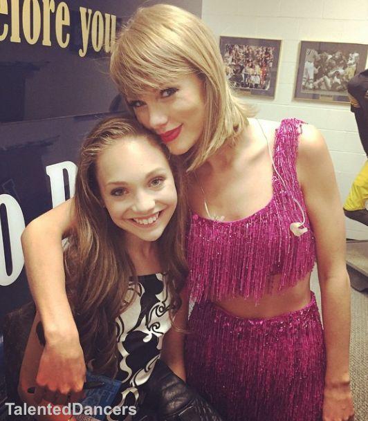 Maddie Ziegler and Taylor Swift!!! FOLLOW: @TalentedDancers