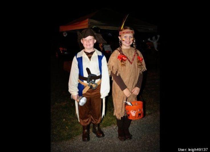 Adorable Kids In Halloween Costumes