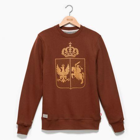 Bluza patriotyczna Bluza Herb Królestwa Polskiego (1830–1831) v.2 - odzież patriotyczna Red is Bad