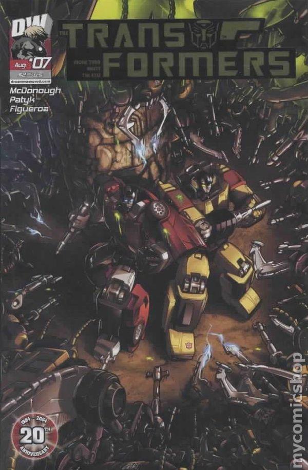 Transformers Generation 1 (2003 Volume 3) 7B Image Comics book covers Modern Age 7