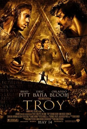 TROYA - Bradd Pitt insiste en rodearse de actores todos mejores que él