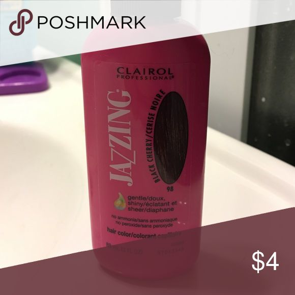 Jazzing hair color Black cherry Makeup