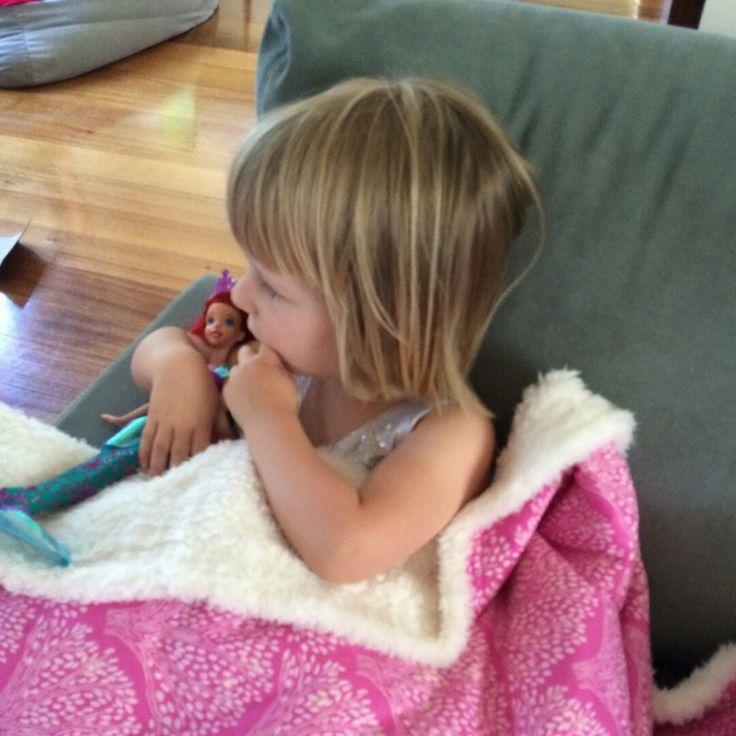 Every girl loves their snuggle blanket