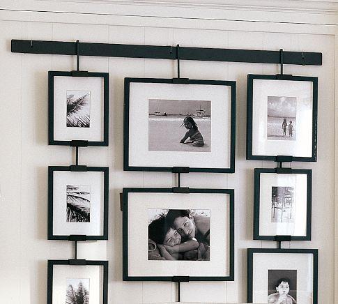 Studio Wall Easel - Easy Multi-level Display $30 plus frames Pottery Barn