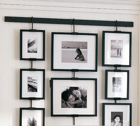 Wall of photos. Cool.