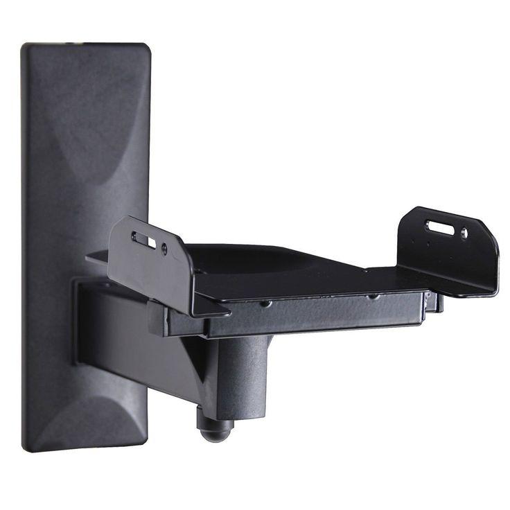 Videosecu One Pair Of Side Clamping Speaker Mounting