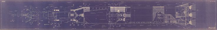 Each Aero-Art blueprint is digitally scanned from original, vintage NASA artwork. Our artists then sharpen and define the detail and colors, and remove tears, creases, coffee stains, etc. Each pristine file is then printed on acid-free, archival 100# paper and ships rolled in a protective bag and tube with an informational label.  ​**Please allow 2 weeks for delivery**