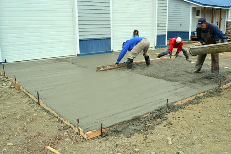 Ana White | Build a Sidewalks and Concrete Pads | Free and Easy DIY Project and Furniture Plans