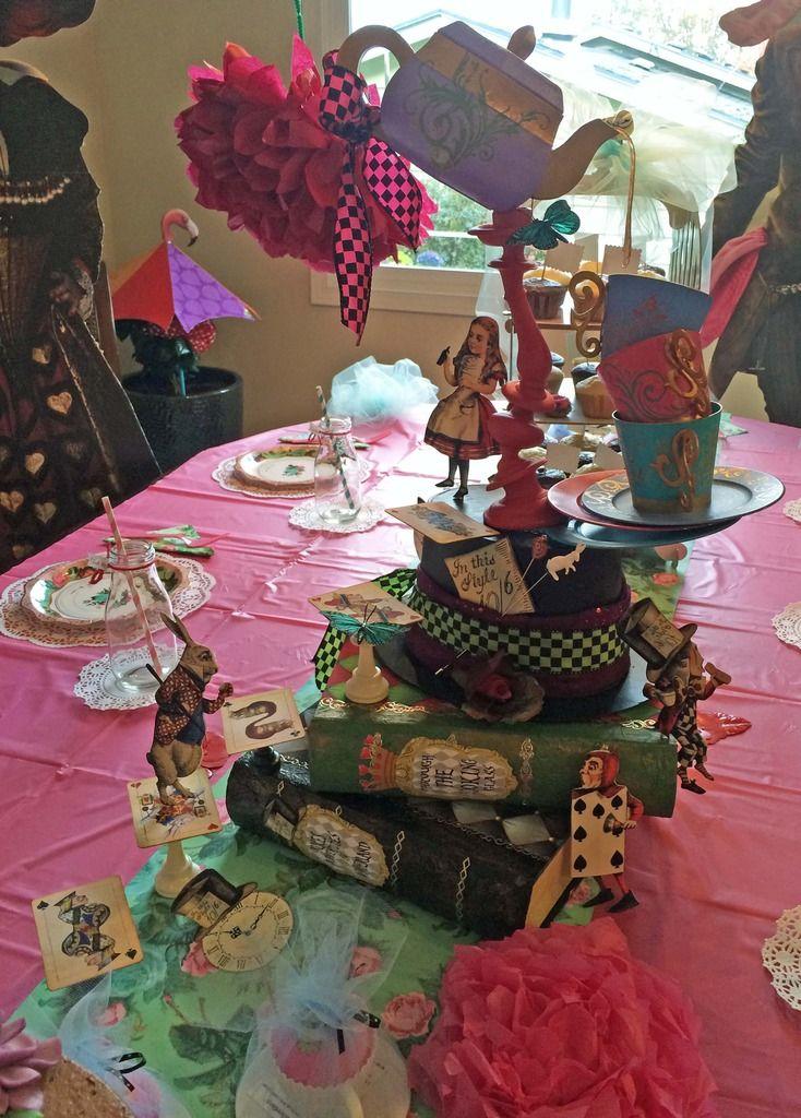 Artfully Musing Alice in Wonderland Birthday Party