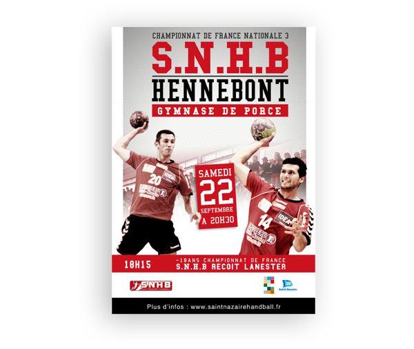 Saint Nazaire handball by Jean Charles Wielfaert, via Behance