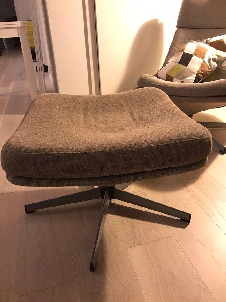 FINN – IKEA lenestol og puff