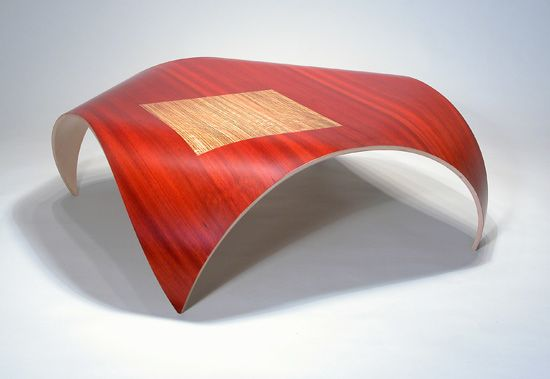 """Estrella Table"" Wood Coffee Table by Kino Guerin on Artful Home"