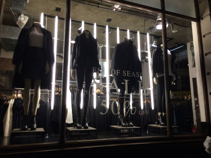 AllSaints at Oxford circus are now 50% sales on But there are limited items you can choose. Industrial interior with Rusty and Vintage concept.