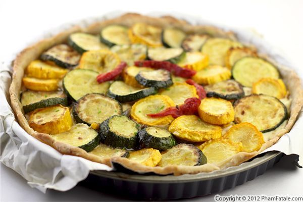 squash and zucchini tart with mascarpone, basil and pine nuts: Mascarpone Recipe, Zucchini Recipes, Cooking Eating Anything Food, Favorite Meals, Favorite Recipes