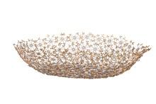 Oval Flower Platter Natural