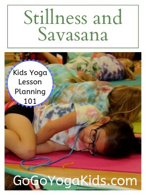 what savasana looks like in for kids in yoga kids yoga