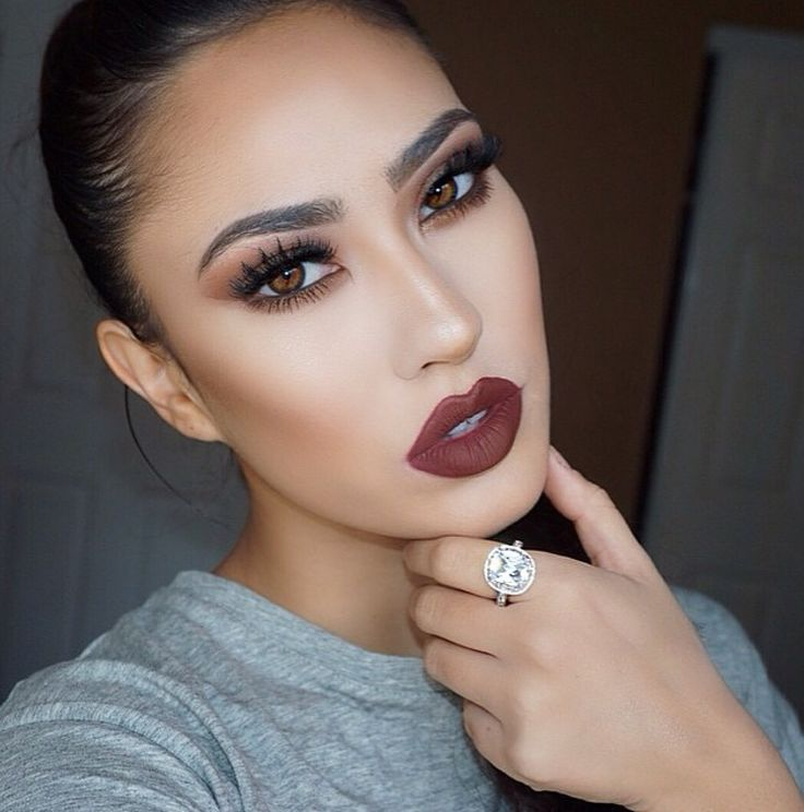 1370 best images about MAKEUP ON FLEEK! on Pinterest | Makeup, Red ...