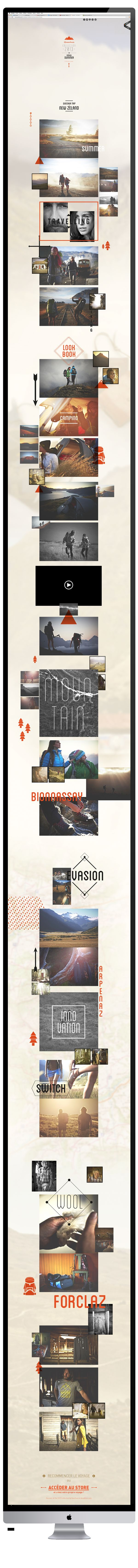 LOOKBOOK QUECHUA by Blandin Timothé, via Behance