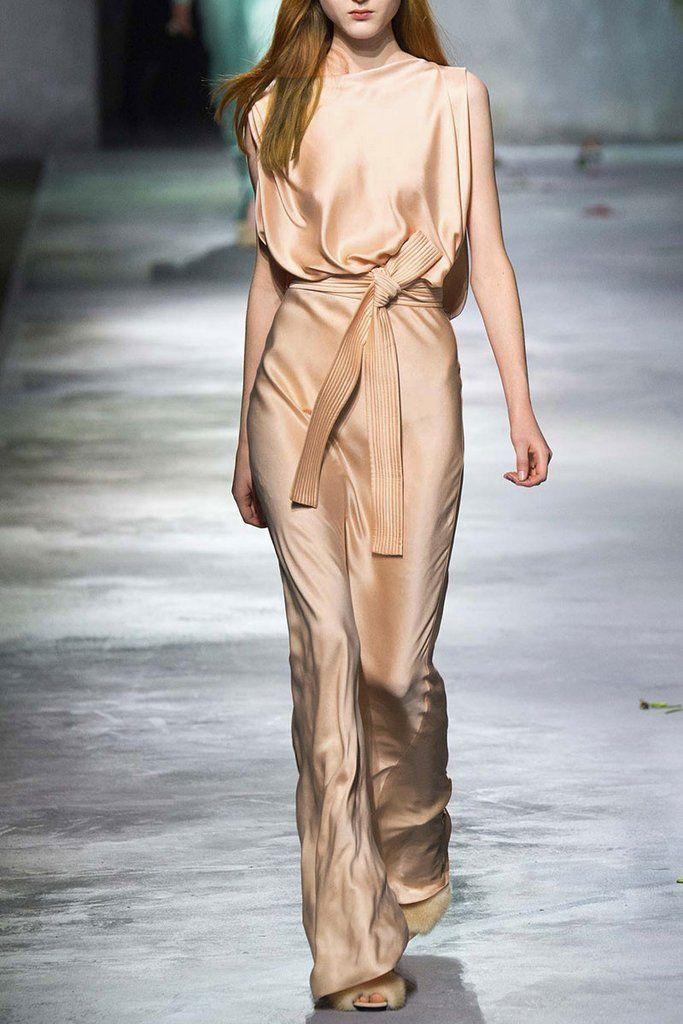 Runway Vogue Girls Silk Elegant Profession Fits