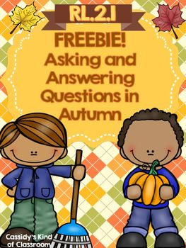Asking and Answering Questions in Autumn FREEBIE – Home Teacher Helps