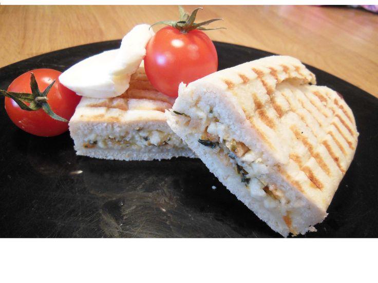 Paninis Tomates et Mozzarella