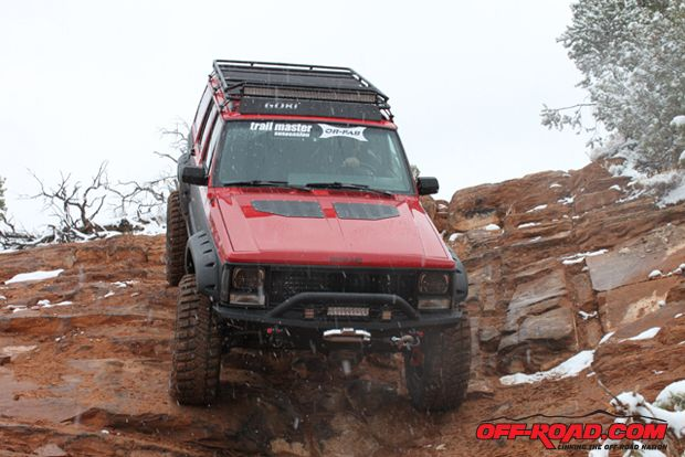 The XJ made its debut run at the 2012 Easter Jeep Safari where it naturally garnered lots of attention from fellow XJ enthusiasts.