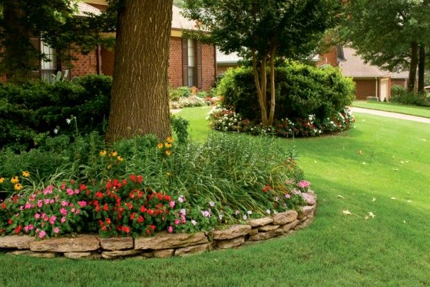 How to Plant a Shade Garden.  This would be great under my one tree in my front yard.  No grass grows there due to surfaced tree roots.  I need a LARGE shade garden with stepping stones.