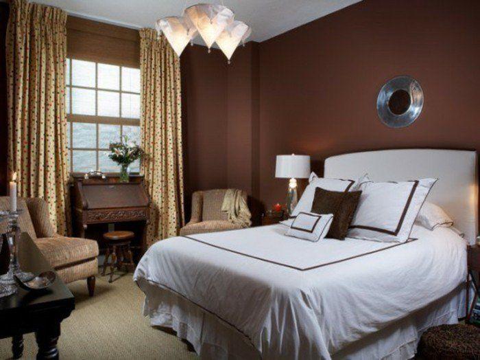 Die besten 25+ Schokoladen braune schlafzimmer Ideen auf Pinterest - braune wandfarbe schlafzimmer