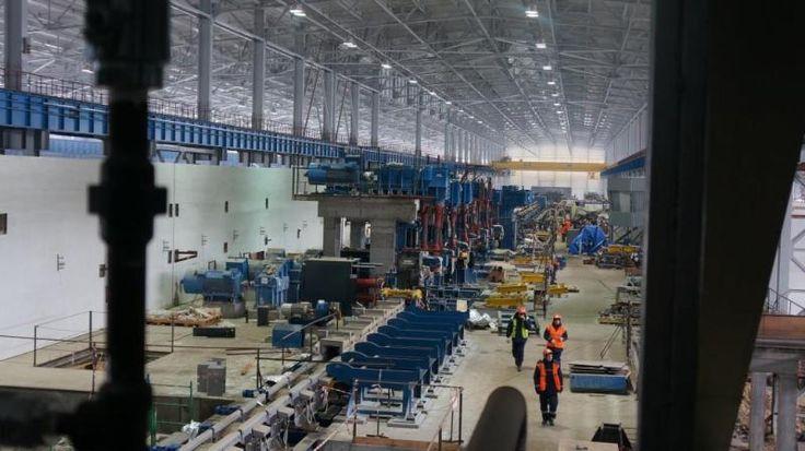 Реализован проект: завод «Северсталь». Проект почти полностью (более чем на 80%) выполнен на светильниках торговой марки «Световые Технологии».