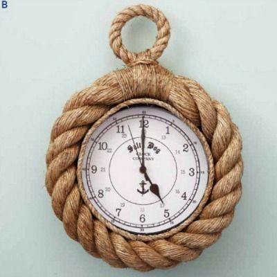 Ropes Wall Clock