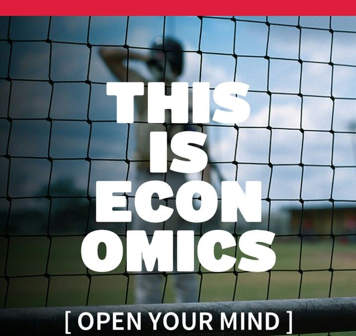 Open Your Mind, This is Economics. Since I'm an economics major at York U