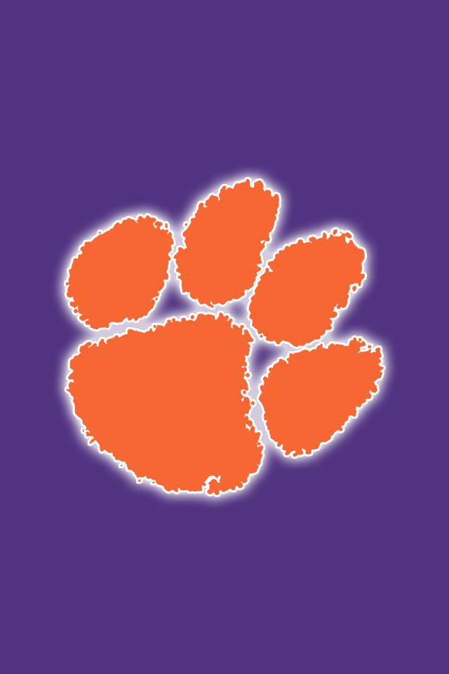 free clemson tigers iphone wallpapers install in seconds