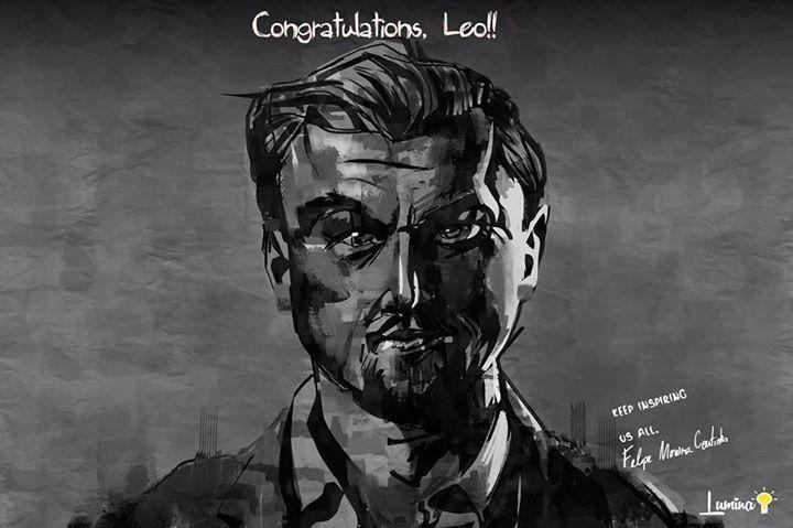 Keep inspiring us all Leo. Congratulations. #congratulationsleo #leo #leonardodicaprio http://ift.tt/1QGREEo - http://ift.tt/1HQJd81