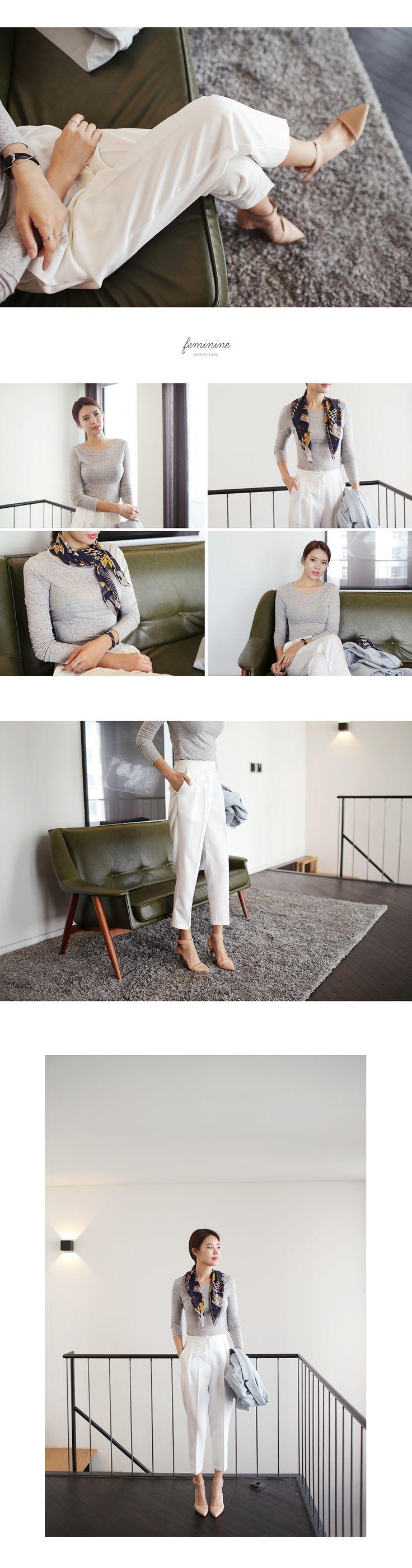 クロップドテーパードパンツ・全3色パンツ・ズボンパンツ・ズボン|レディースファッション通販 DHOLICディーホリック [ファストファッション 水着 ワンピース]