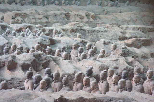 Xian y sus guerreros de terracota