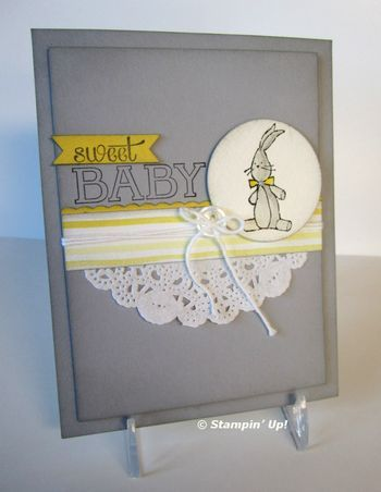Sweet Baby Card from Flowerbug's Inkspot